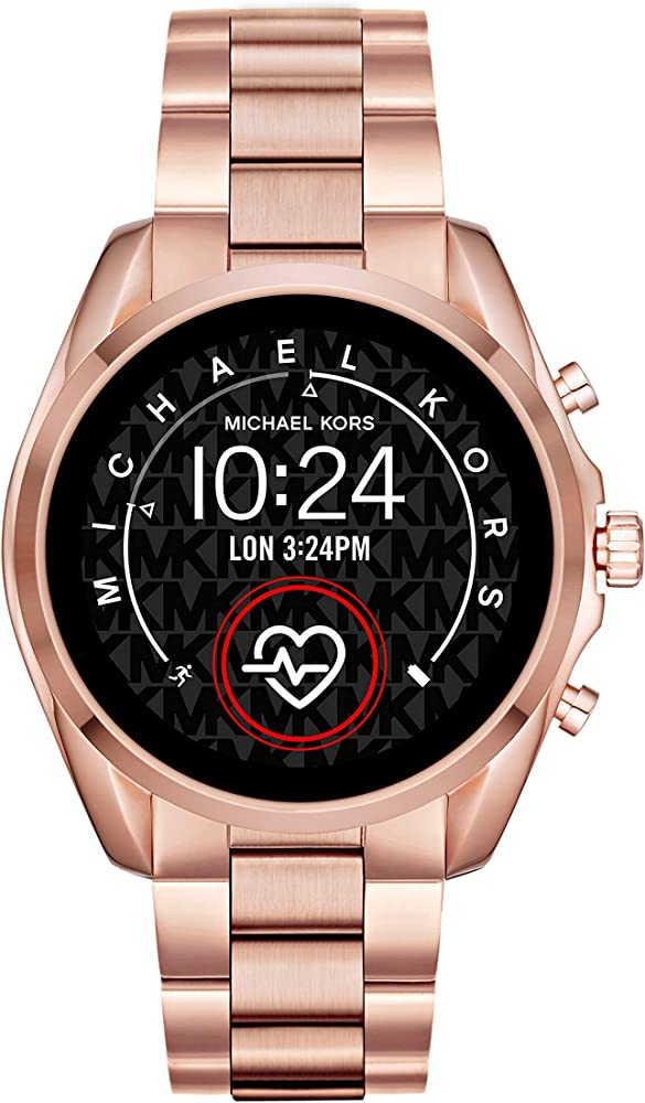 Michael kors smartwatch connected con wear os by google con altoparlante da donna MKT5086