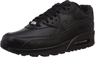 Air Max 90 Leather Mens Trainers 302519 Sneakers Shoes