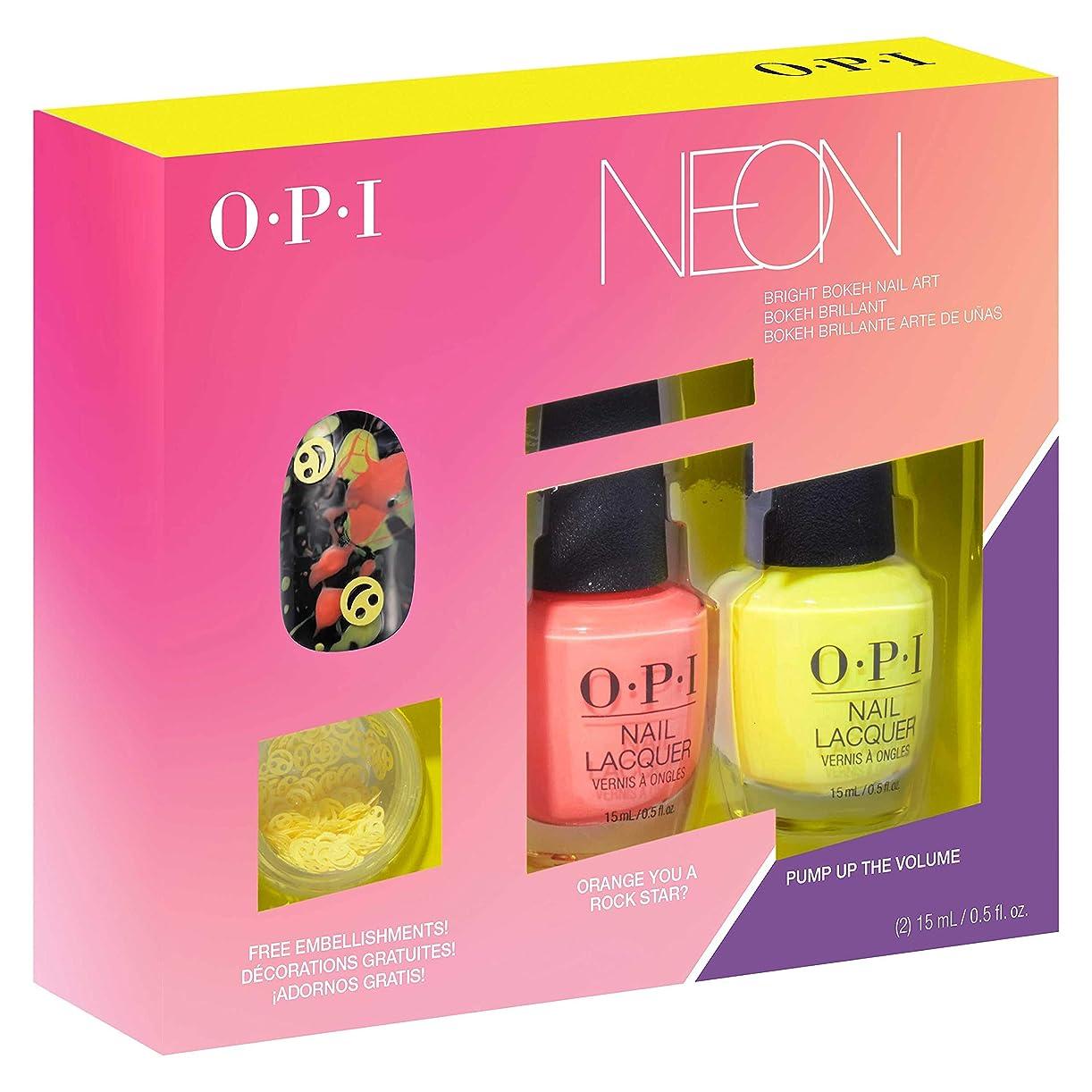 からに変化する概念乳OPI(オーピーアイ) ネオン バイ オーピーアイ ネイルラッカー デュオパック #2