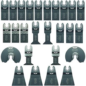 10x topstools bi-métal outil multi-lames Pour Worx Sonicrafter Ryobi Erbauer AEG