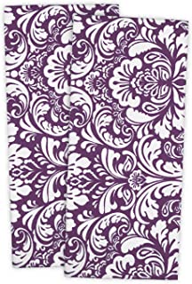 DII Cotton Damask Kitchen Dish Towels, 28 x 18