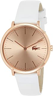 Lacoste Women's Analogue Quartz Watch with Leather Calfskin Strap 2000949