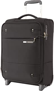 Samsonite 109254 Base Boost 2 Upright Expandable Suitcase, Black, 50 Centimeters