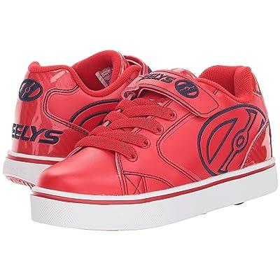 Heelys Vopel X2 (Little Kid/Big Kid/Adult) (Red/Black) Boys Shoes