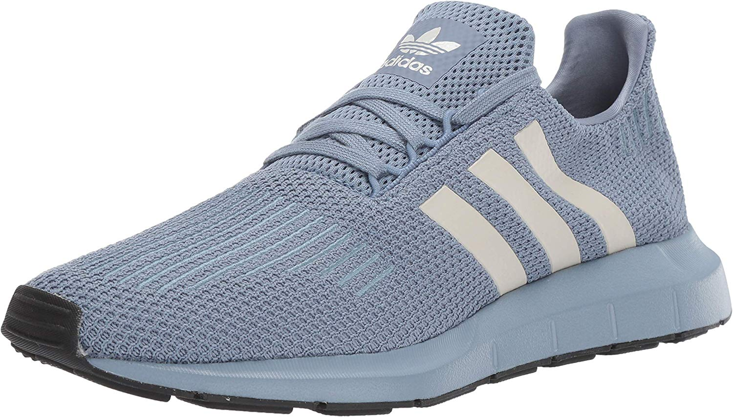 Adidas Originals Men's Swift correrening sautope, raw grigio Chalk Pearl nero, 13 M US