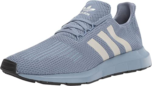 Adidas Originals Men's Swift Running schuhe, raw grau Chalk Pearl schwarz, 11.5 M US