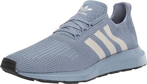 Adidas Originals Men's Swift Running chaussures, raw gris Chalk Pearl noir, 7.5 M US