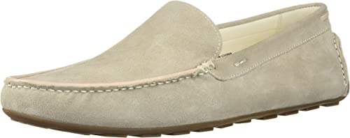 Kenneth Cole REACTION REACTION Hommes's Leroy Driver Driving Style Loafer, Off blanc, 11.5 M US  80% de réduction