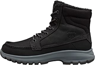 Men's Garibaldi V3 Waterproof Winter Snow Boot Warm with Grip, Jet Black/Charcoal/Black Gum, 7.5