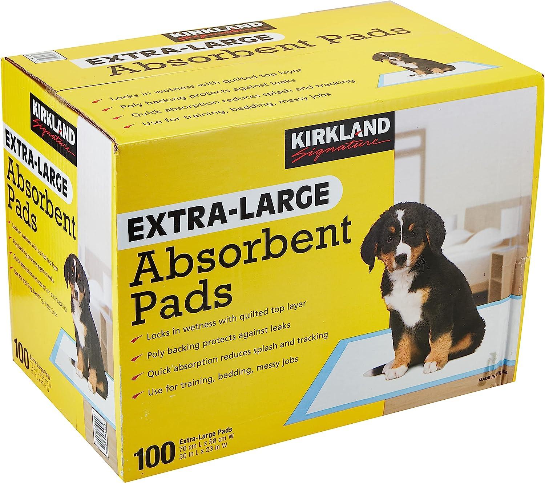 Kirkland Signature best leak proof puppy pads Extra-Large