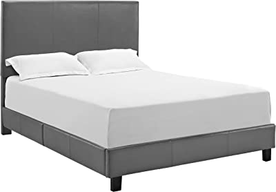 Phenomenal Amazon Com Dhp Rose Storage Upholstered Bed Gray Velvet Creativecarmelina Interior Chair Design Creativecarmelinacom