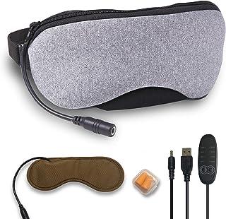 ホットアイマスク USB 電熱式 アイマスク 蒸気 やわふわベロア素材 繰り返し カバー洗える ギフト プレゼント OASISEYE