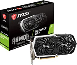 MSI GeForce GTX 1660 Ti ARMOR 6G OC グラフィックスボード VD7765