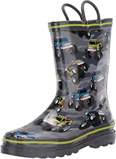 Western Chief Kid's Waterproof Printed Rain Boot