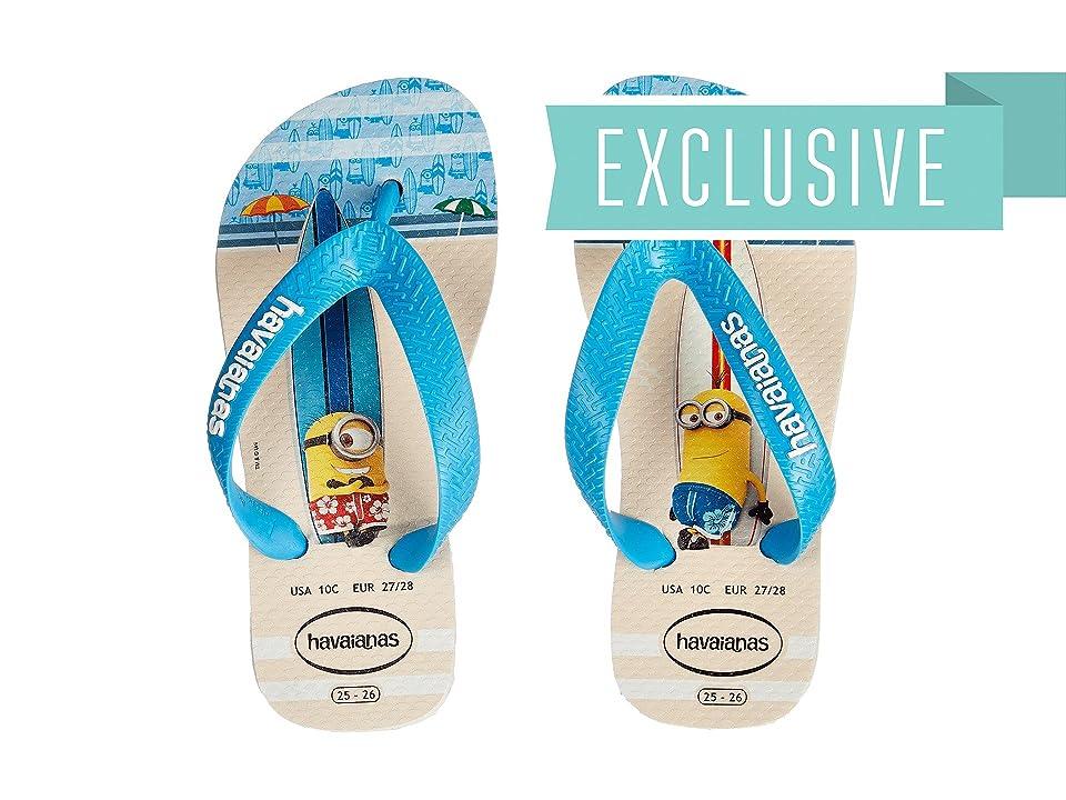 Havaianas Kids Minions Flip Flop (Toddler/Little Kid/Big Kid) (White) Kids Shoes