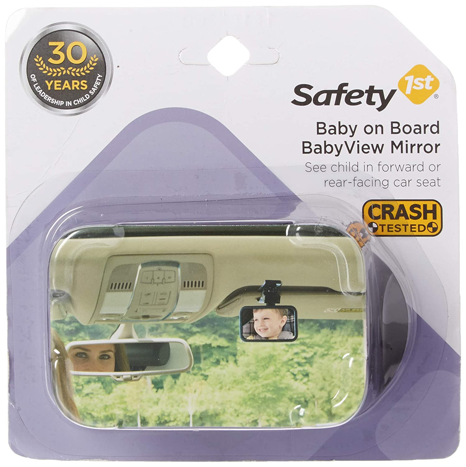 Safety 1st 48919/224 Baby on Board Front or Back Babyview Mirror