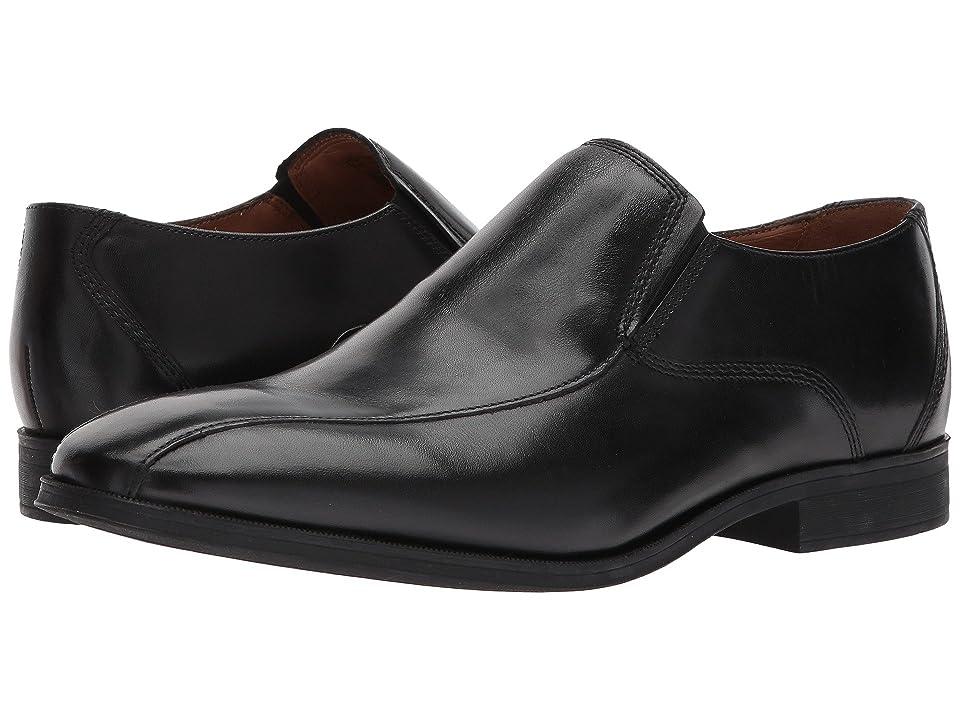 Clarks Gilman Slip (Black Leather) Men