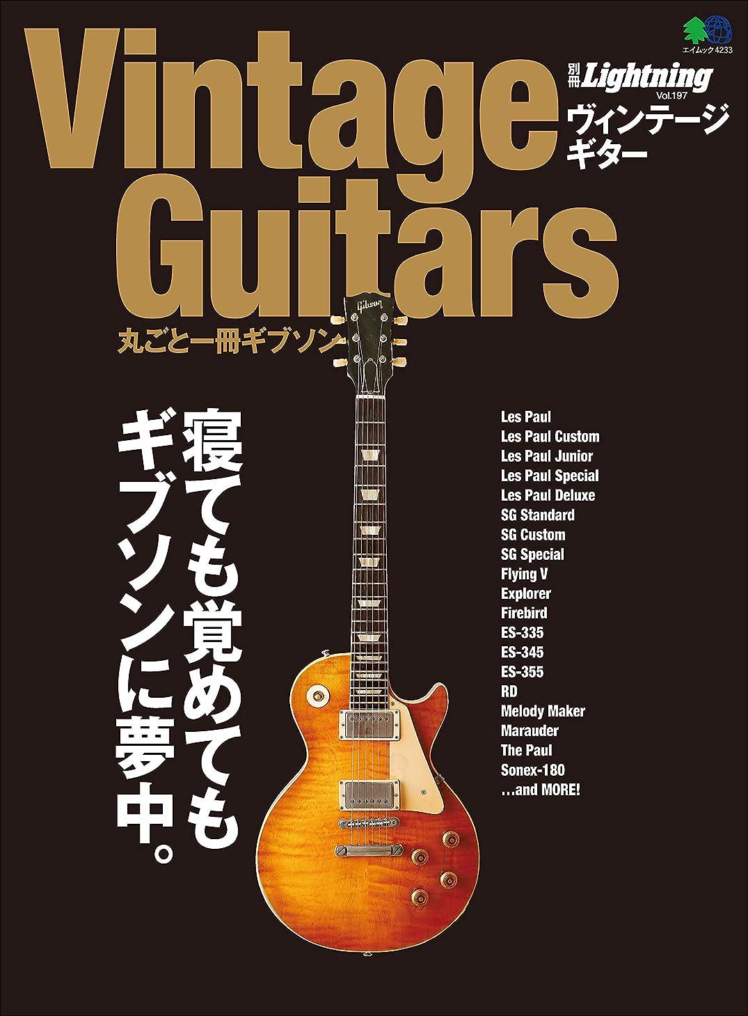 ボトルヒント化学別冊Lightning Vol.197 Vintage Guitars 丸ごと一冊ギブソン[雑誌]