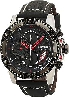 ساعة اليد جينتس للرجال من ميجر - ML2130GS/BK-1A