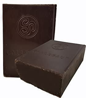 Callebaut Finest Belgian Semisweet Chocolate Blocks - Approximately 1 pound per Block - 2 Blocks