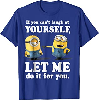 Minions Laugh At Yourself Graphic T-Shirt