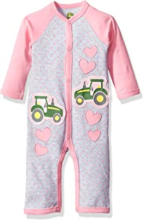 Baby Girls' Long Sleeve Coverall