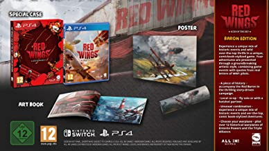 Red Wings Aces of the Sky Baron Edition - PlayStation 4 - Baron Edition