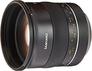 Samyang SYXP85-C XP 85mm f/1.2 High Speed Lens for Canon EF with Built-in AE Chip, Black