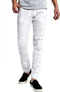 インプローブス チノパン ストレッチ スリム スキニー ストレッチパンツ スキニーパンツ カラーパンツ ズボン メンズ