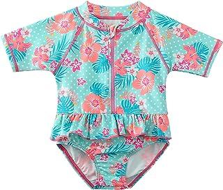 Sweegentle Baby Girl Swimwear Sunsuit One-Piece Swimsuit Bathing Suit