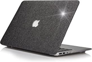 MacBook Pro Retina 13 inch Case - Model A1502/A1425 FUNUT Bling Leather Protective Case Hard Plactic Shell Slim Cover for Old MacBook Pro 13.3 inch with Retina Display,No CD-ROM - Shiny Gray