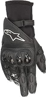 Alpinestars GP X V2 Motorcycle Breathable Hardknuckle Stealth Riding Gloves (Medium, 10-Black)