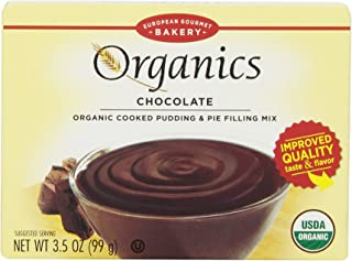 European Gourmet Bakery Organic Pudding Mix, Chocolate, 3.5 Ounce (Pack of 12)