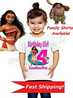 Moana Birthday Shirt, Family Birthday Shirts, Moana Shirt, Moana Party Favor, Add Any Name and Age, Maui Birthday Shirt, Moana, Visit Our Shop