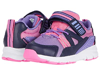 Stride Rite M2P Journey XW-Adaptable (Toddler) (Purple Multi) Girls Shoes