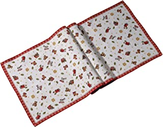 Villeroy & Boch Toy's Delight Gobelin Runner x L, Red/Multicoloured, 49 x 143 cm, Cotton, One Size