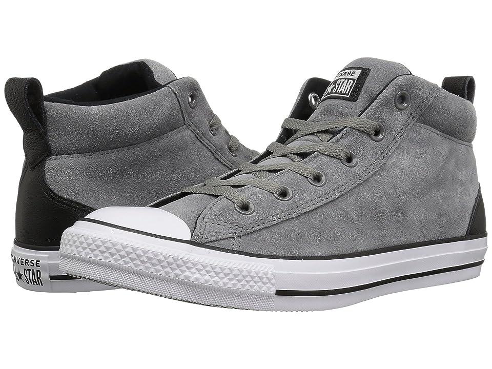 Converse Chuck Taylor All Star Street Letterman Jacket Mid (Mason/Black/White) Shoes