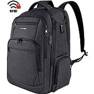 KROSER Travel Laptop Backpack 15.6-17.3 Inch Large Computer Backpack Water-Repellent School...