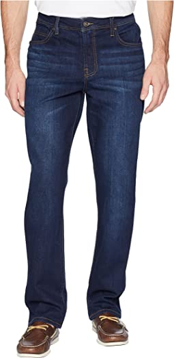 Relaxed Straight Stretch Denim in San Ardo Vintage Dark
