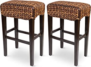 Best woven seagrass stools Reviews