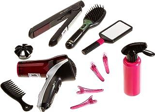 Theo Klein-5873 Mega Set de peluquería con Cepillo, secador