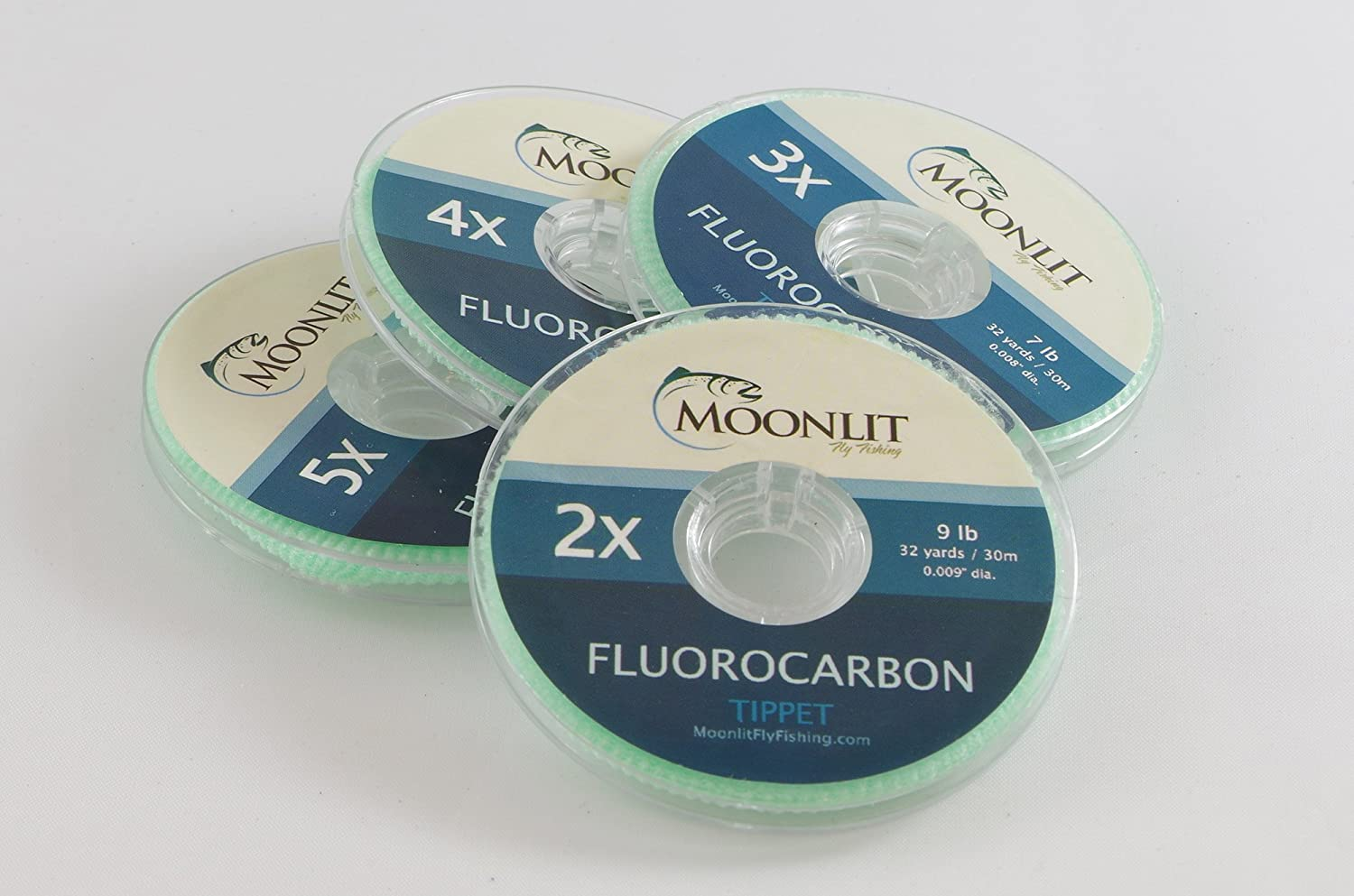 Flugoldcarbon Fly Fishing Tippet (3 Pack) (6X 5X 4X)