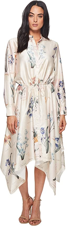 LAUREN Ralph Lauren - Floral Handkerchief-Hem Dress