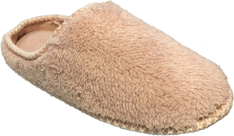 Dearfoams Women's Pile Columbus Mall Clog with Memory Binding Foam Woven Slipp Ranking TOP5