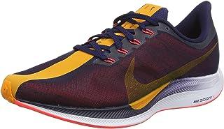Women's Zoom Pegasus 35 Turbo Running Shoes (9, Navy/Orange)