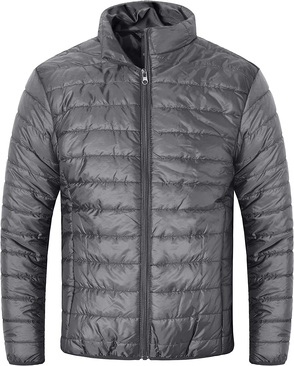 Mens Packable It is very popular Ranking TOP19 Puffer Jacket Water-Resistant Quilted Lightweight