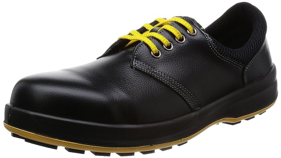 ソーセージおばさん高齢者[シモン] 安全靴 JIS規格 短靴 静電 WS11 メンズ