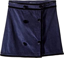 Raw Edge Skirt (Little Kids/Big Kids)
