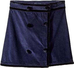 Raw Edge Skirt (Little Kids/Big Kids)