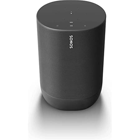 Sonos Move - Battery-powered Smart Speaker, Wi-Fi and Bluetooth with Alexa built-in - Black​​​​​​​